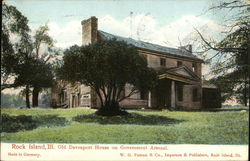 Old Davenport House on Government Arsenal