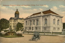 Denkmann Memorial Library and Augustana College