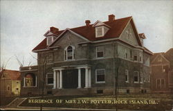 Residence of Mrs. J.W. Potter