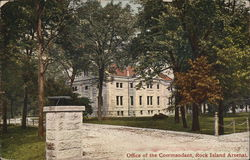 Office of the Commandant, Rock Island Arsenal