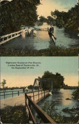 High Water Scenes on Flat Branch