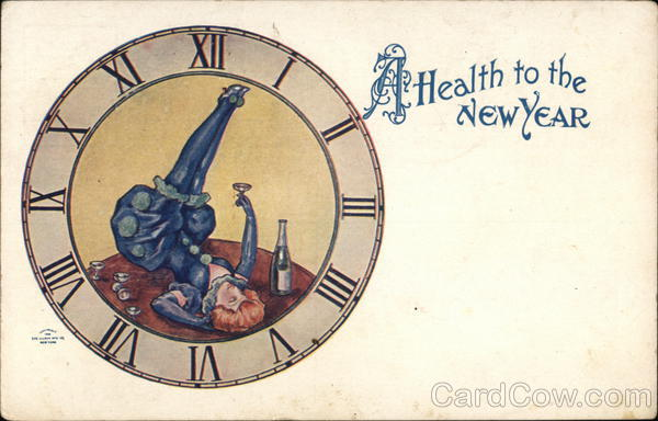A Health to the New Year New Year's