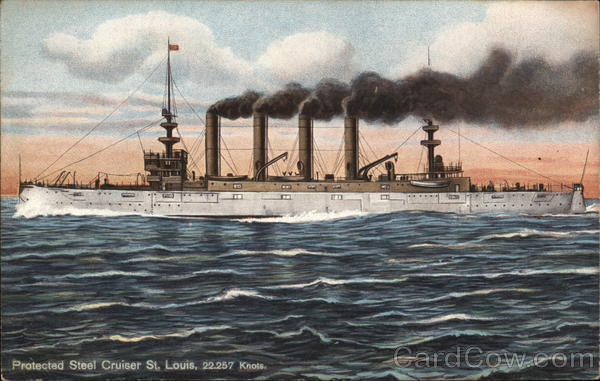 Protected Steel Cruiser St. Louis Ships
