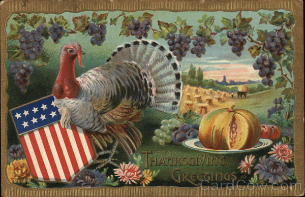 Thanksgiving Greetings Patriotic