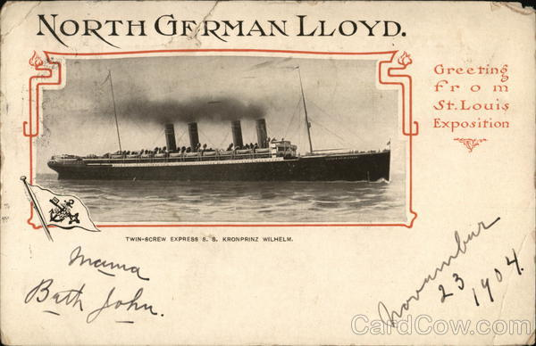North German Lloyd Boats, Ships