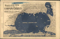 Bird's Eye View of Corpus Christi