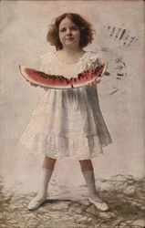 Girl with Watermellon