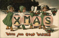 XMAS With All Good Wishes