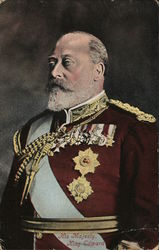 Colorized photo of His Majesty, King Edward (British)