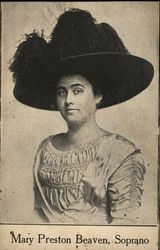 Mary Preston Beaven, Soprano