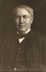 Portrait of Thomas A. Edison