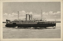 "S.S. ""Charlottetown"" - Canadian National Railways Car Ferry"