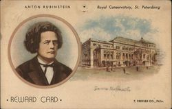 Anton Rubinstein Reward Card