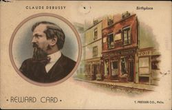 Claude Debussy Reward Card