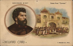 Georges Bizet Reward Card