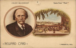 Jules Massenet Reward Card