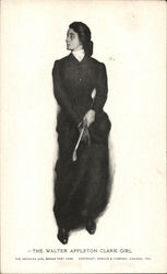 The Walter Appleton Clark Girl Postcard