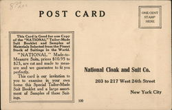 National Cloak and Suit Co.