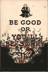 Be Good Or You'll Be Sorry: Monk and Devil