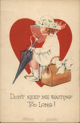 Don't Keep Me Waiting Too Long! Postcard
