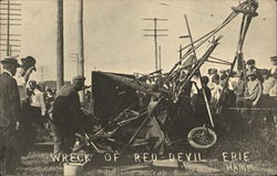 Wreck of Red Devil Erie Hamm