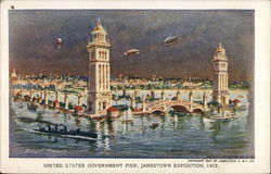 United States Government Pier, Jamestown Exposition, 1907