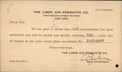 The Linde Air Products Co.