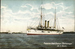 "Protected Steel Cruiser ""Chattanooga"" 16.5 Knots"