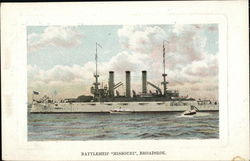 "Battleship ""Missouri"", Broadside"