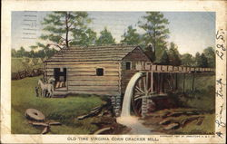 Old Time Virginia Corn Cracker Mill