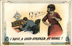I have a Loud-Speaker at Home
