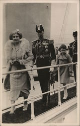 Kinge George VI, Queen and Princess Elizabeth