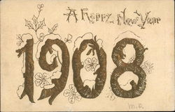 A Happy New Year 1908