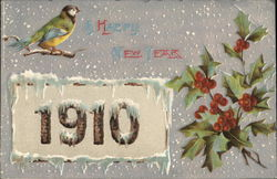 New Year Greetings 1910