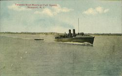 Torpedo Boat Morris at Full Speed, Newport, R.I.
