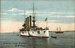 Armored Cruiser Brooklyn 21.91 Knots