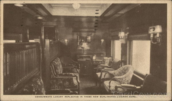 Consummate Luxury Reflected in These New Burlington Lounge Cars