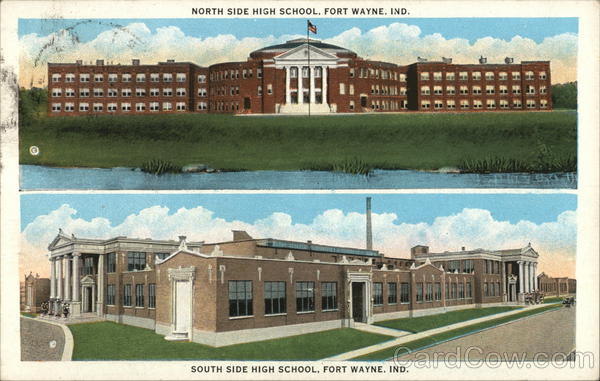 North and South Side High Schools Fort Wayne Indiana