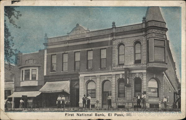 First National Bank El Paso Illinois