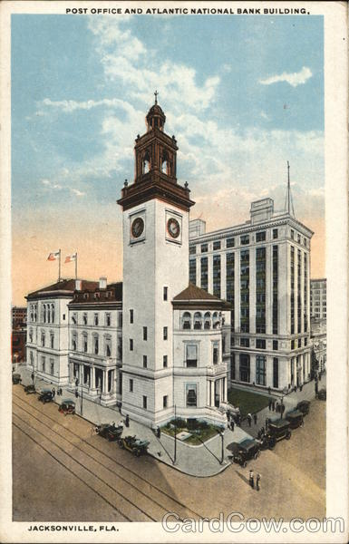 Post Office and Atlantic National Bank Building Jacksonville Florida