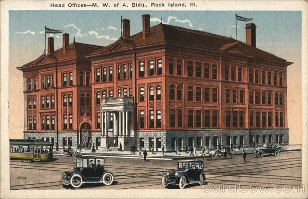 Head Offices - M.W. of A. Bldg. Rock Island Illinois