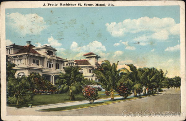 A Pretty Residence St. Miami Florida