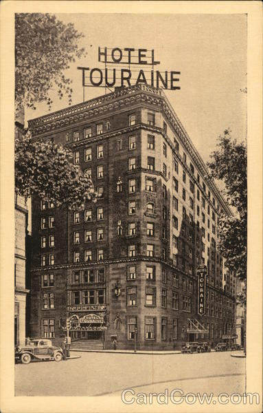 Hotel Touraine Boston Massachusetts