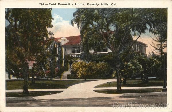 794:-Enid Bennett's Home Beverly Hills California