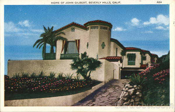 Home of John Gilbert Beverly Hills California