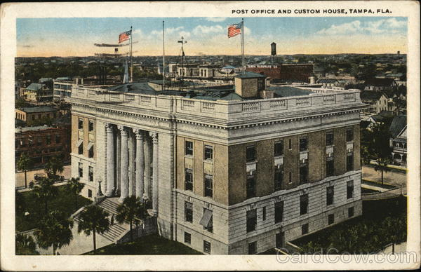 Post Office and Custom House Tampa Florida