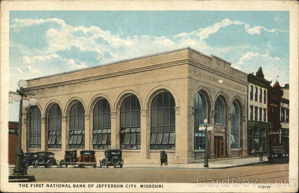 First National Bank Jefferson City Missouri