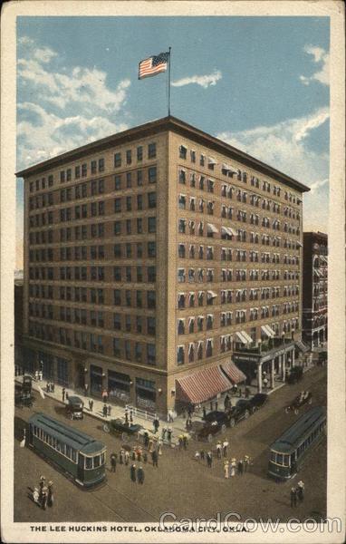 The Lee Huckins Hotel Oklahoma City