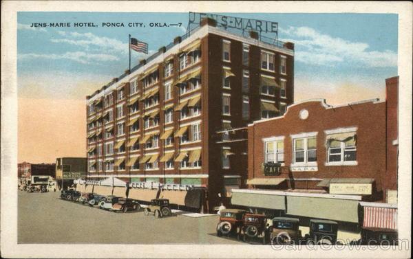 Jens Marie Hotel Ponca City Oklahoma