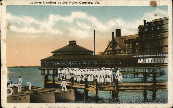 Jackies Landing, Old Point Comfort Hampton Virginia